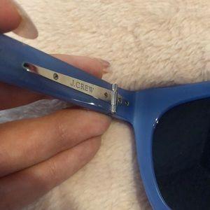 J. Crew Accessories - Blue Jcrew Sunglasses